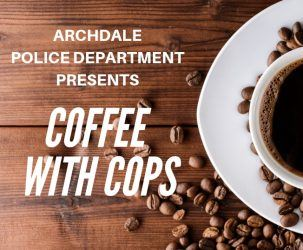 Archdale Police Department Presents Coffee with Cups