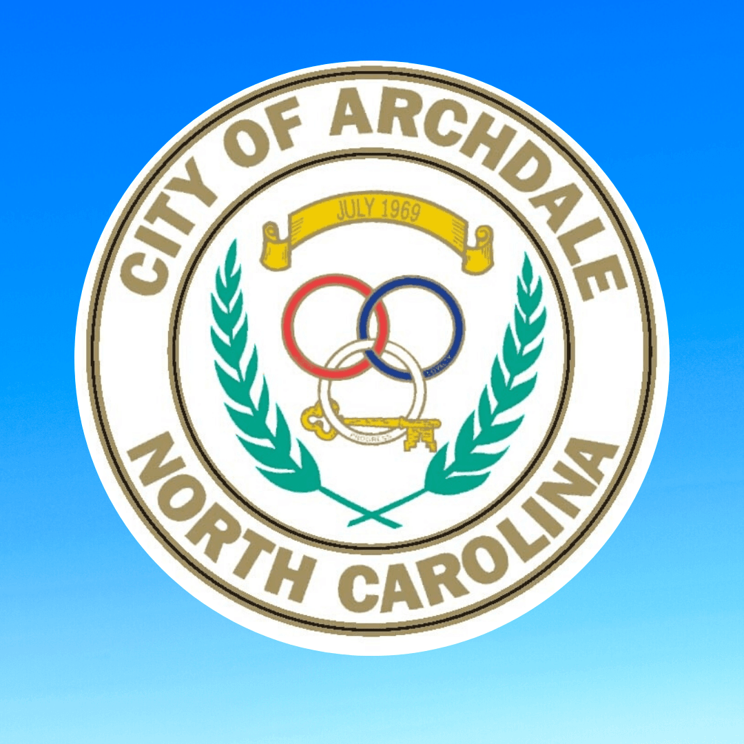City of Archdale North Carolina Seal