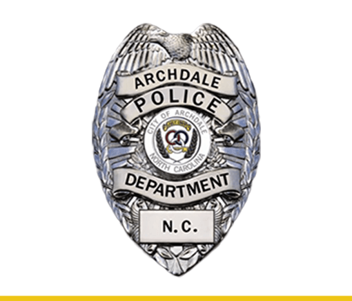 Archdale Police Department Badge