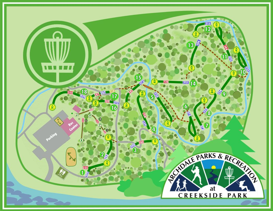 DiscGolfMap High Quality