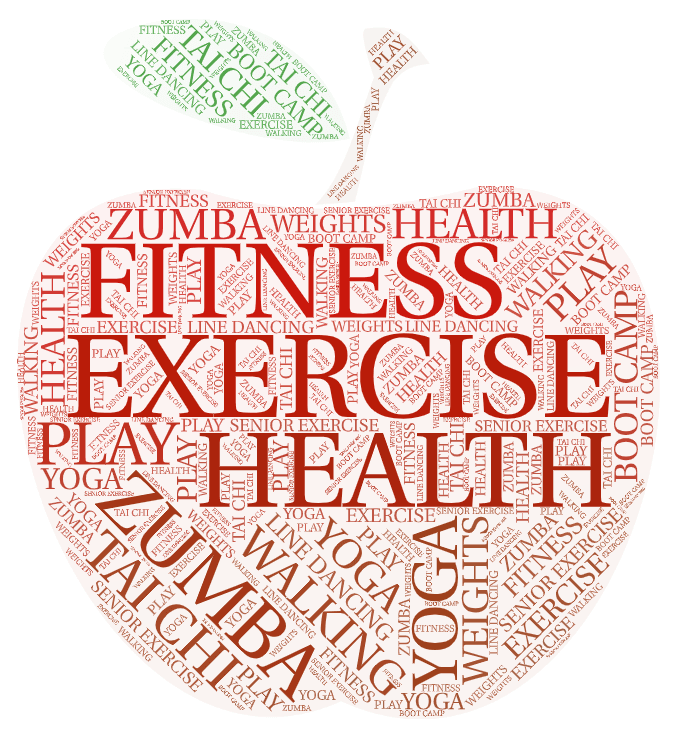 Health and Exercise Graphic